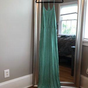 Dresses & Skirts - Turquoise Racerback Maxi Dress